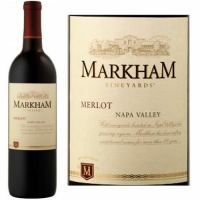 12 Bottle Case Markham Napa Merlot 2014