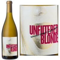 12 Bottle Case Unfiltered Blonde Sonoma Chardonnay 2014
