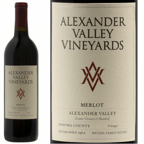 Alexander Valley Vineyards Alexander Merlot 2018