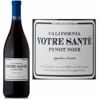 12 Bottle Case Votre Sante California Pinot Noir 2014