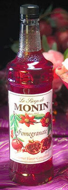 Monin Pomegranate Syrup 1L