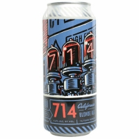 Bottle Logic 714 California Blonde Ale 16oz 4 Pack Cans