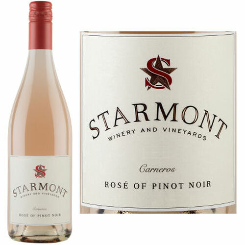12 Bottle Case Starmont by Merryvale Carneros Rose of Pinot Noir 2019
