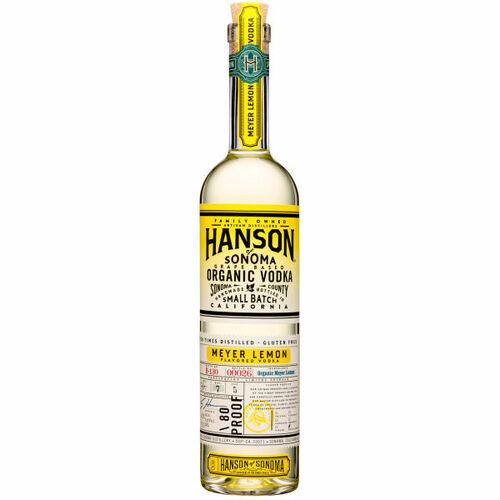 Hanson of Sonoma Meyer Lemon Organic Vodka 750ml