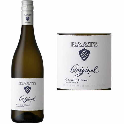 Raats Original Unwooded Stellenbosch Chenin Blanc 2019 (South Africa) Rated 91WA