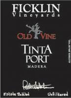 Ficklin Old Vine Tinta Port NV