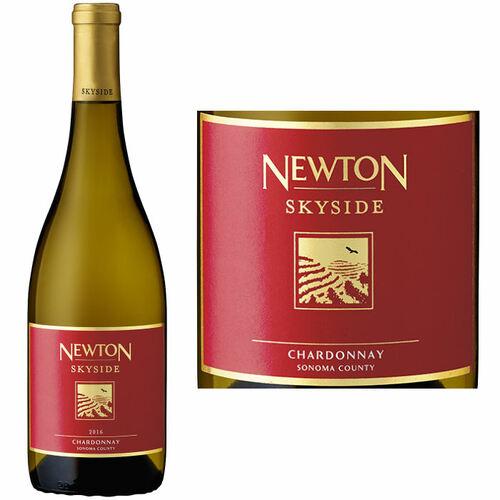 12 Bottle Case Newton Skyside Red Label Sonoma Chardonnay 2018