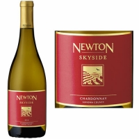 12 Bottle Case Newton Skyside Red Label Sonoma Chardonnay 2016