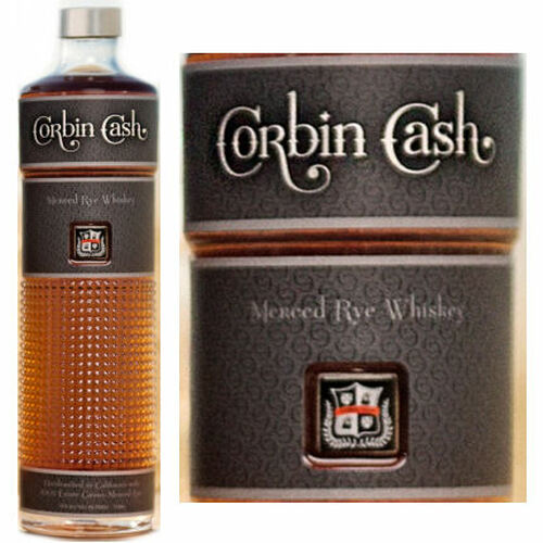 Corbin Cash Merced Rye Whiskey 750ml