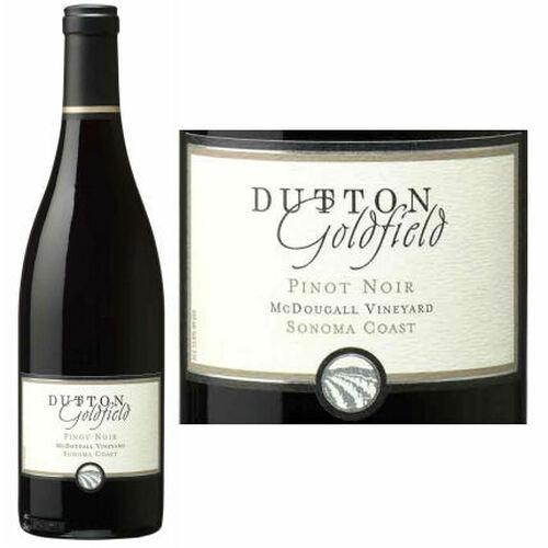Dutton-Goldfield McDougall Vineyard Sonoma Coast Pinot Noir 2014 Rated 93WE