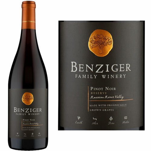 Benziger Family Winery Reserve Russian River Pinot Noir 2017