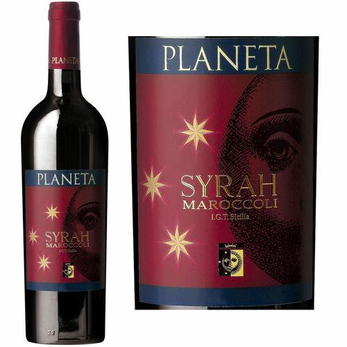 Planeta Syrah Maroccoli Sicilia IGT 2013 Rated 93JS