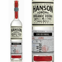 Hanson of Sonoma Original Grape Based Organic Vodka 750ml
