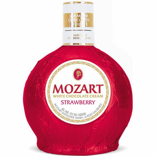 Mozart White Chocolate Strawberry Cream Liqueur 750ml