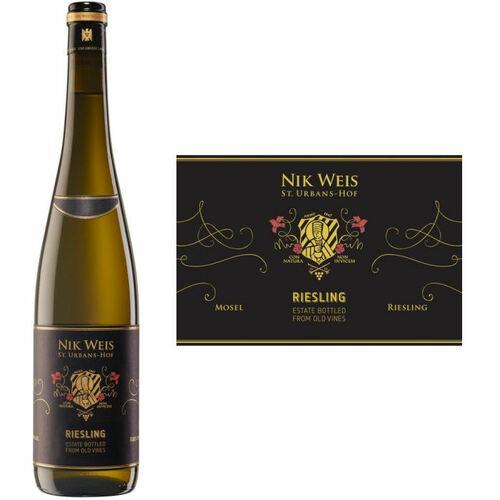 Nik Weis St. Urbans-Hof Estate Old Vines Riesling QbA 2019 (Germany) Rated 90WE
