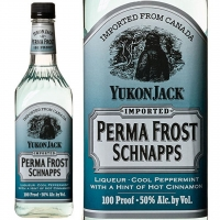 Yukon Jack Perma Frost Peppermint Schnapps 750ml