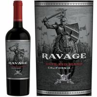 12 Bottle Case Ravage California Dark Red Blend 2016