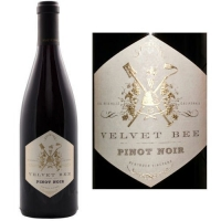 Velvet Bee Bentrock Vineyard Santa Rita Hills Pinot Noir 2013 Rated 92WE