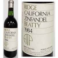 Ridge Beatty Vineyard Howell Mountain Zinfandel 1984