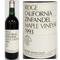 Ridge Maple Vineyard Dry Creek Zinfandel 1993