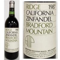 Ridge Bradford Mountain Sonoma Zinfandel 1987