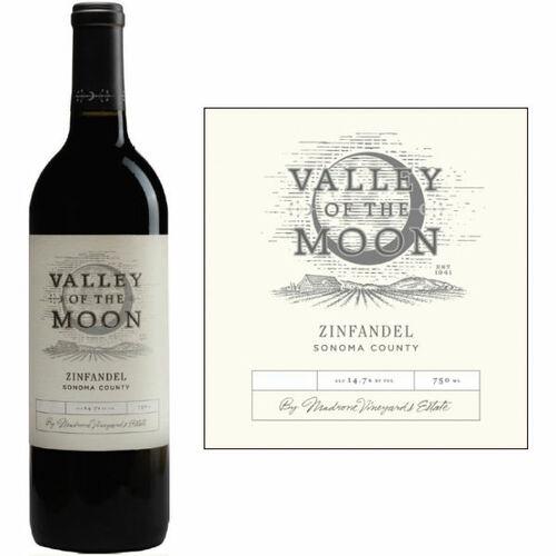 12 Bottle Case Valley of the Moon Sonoma Zinfandel 2016