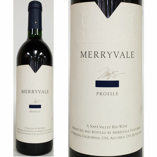 Merryvale Profile Napa Red Blend 1987