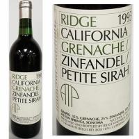 Ridge Lytton Springs Sonoma Grenache Zinfandel Petite Sirah 1993