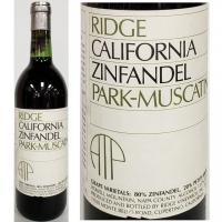 Ridge Park-Muscatine Howell Mountain Zinfandel 1989