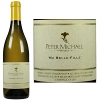Peter Michael Ma Belle-Fille Vineyard Kinghts Valley Chardonnay 2015 Rated 98+WA