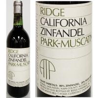 Ridge Park-Muscatine Howell Mountain Zinfandel 1990