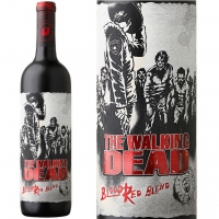 The Walking Dead California Blood Red Blend 2015