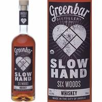 Greenbar Slow Hand Six Woods Organic Whiskey 750ml