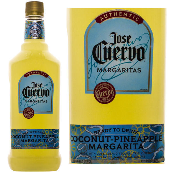 Jose Cuervo Ready To Drink Coconut-Pineapple Margarita 1