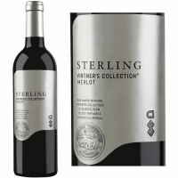 12 Bottle Case Sterling Vintner's Collection California Merlot 2014