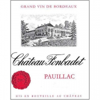 Chateau Fonbadet Pauillac 2013 Rated 91WE