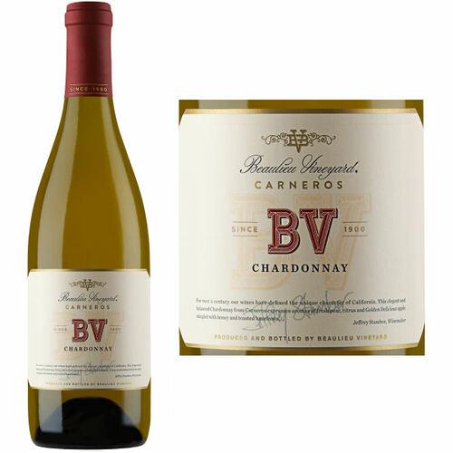 12 Bottle Case Beaulieu Vineyards Carneros Chardonnay 2016