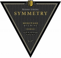 Rodney Strong Symmetry Alexander Valley Red Meritage 2014 Rated 91WA