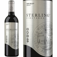 12 Bottle Case Sterling Napa Merlot 2015