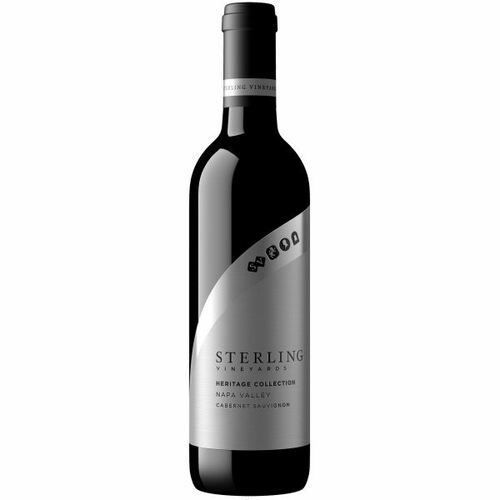 12 Bottle Case Sterling Heritage Collection Napa Cabernet 2017 Rated 91WS