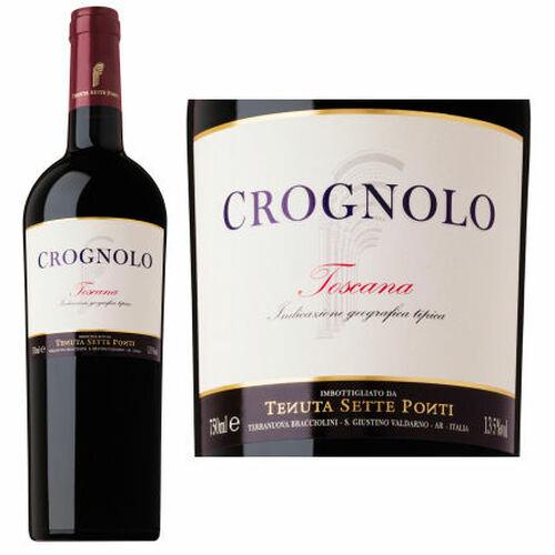 Tenuta Sette Ponti Crognolo Toscana IGT 2018 Rated 94JS