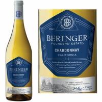 12 Bottle Case Beringer Founders' Estate California Chardonnay 2016