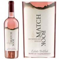 Matchbook Dunnigan Hills Rosé of Tempranillo 2017 Rated 99 DOUBLE GOLD MEDAL and BEST OF CLASS OF VARIETAL