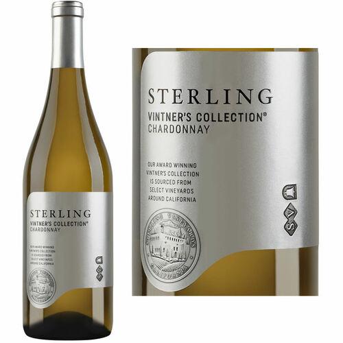 12 Bottle Case Sterling Vintner's Collection California Chardonnay 2018