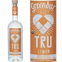 Greenbar TRU Lemon Organic Vodka 750ml