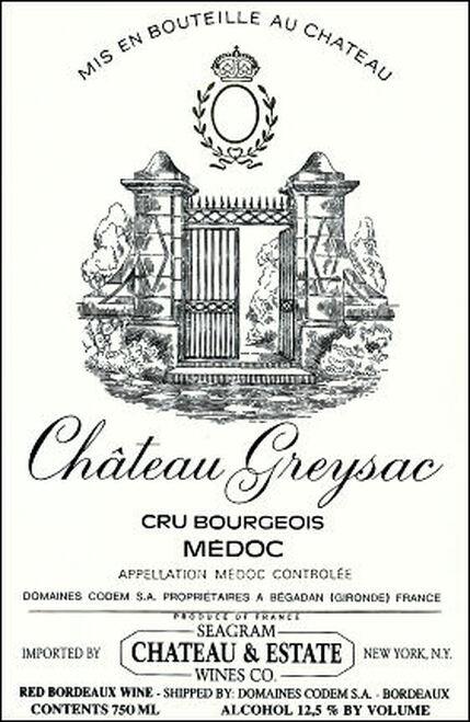 Chateau Greysac Medoc 2015 Rated 91WE