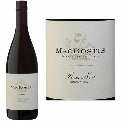 MacRostie Sonoma Coast Pinot Noir 2018 Rated 91WS