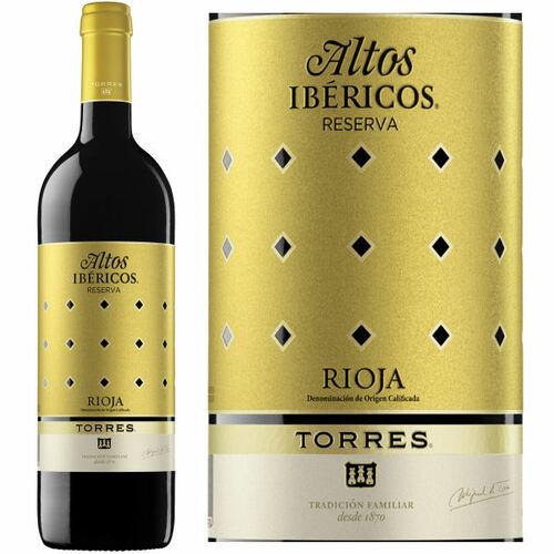 Torres Altos Ibericos Reserva Rioja 2014 (Spain) Rated 92JS