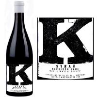 K Vintners Morrison Lane Walla Walla Syrah 2014 Rated 94+WA