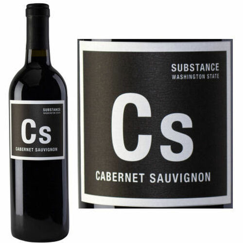 Substance Columbia Valley Cabernet Washington 2018 Rated 93JS